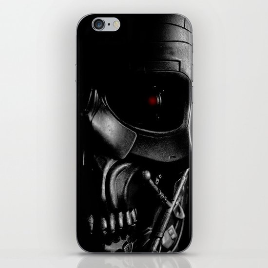 Endoskeleton iPhone & iPod Skin