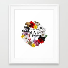 Alice In Wonderland: MAD Framed Art Print