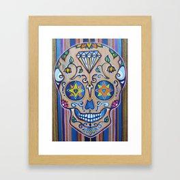 Smiling Diamond  Framed Art Print