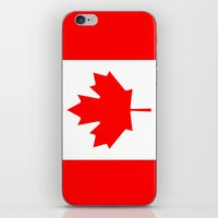 canada iPhone & iPod Skins featuring Canada by McGrathDesigns