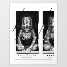 Tragics 01 - Mothers Daughter Art Print