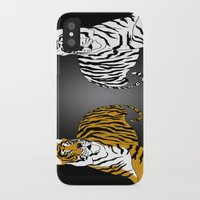 tigers iPhone & iPod Cases featuring Tigers by Christina Gulbrandsen