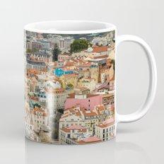 Lisbon From Above Mug