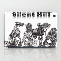 silent hill iPad Cases featuring Silent Hill Hellhounds by nightriot