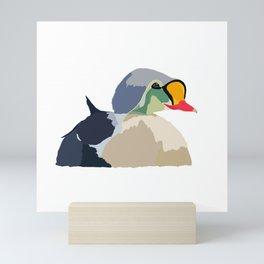 King Eider Mini Art Print