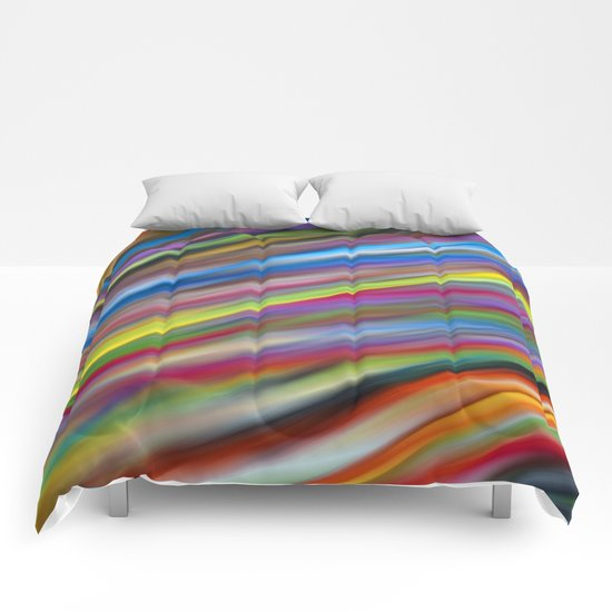 Abstract colour 8 Comforters