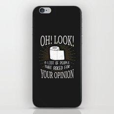 Oh! Look! iPhone & iPod Skin