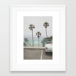 Cruisin Manhattan Beach Framed Art Print