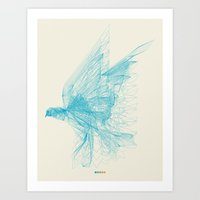 freedom Art Prints featuring Freedom by ChrisRIllustrations