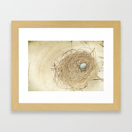Petit Nest Framed Art Print