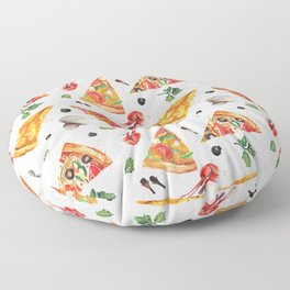 Pizza Party Floor Pillow