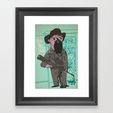 le police Framed Art Print