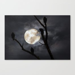 Full Moon Committee Canvas Print