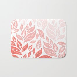 LIVING CORAL LEAVES 3 Bath Mat