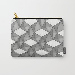 Trapez 5/5 grey pencil sketch by Brian Vegas Carry-All Pouch