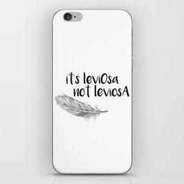 Wingardium Leviosa iPhone Skin