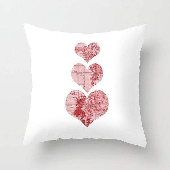 I Love, Love, Love, You Throw Pillow