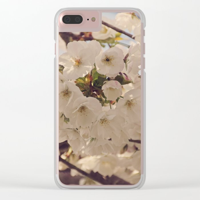 Hello Spring #4 Clear iPhone Case