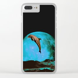 magician of seas - turquoise Clear iPhone Case