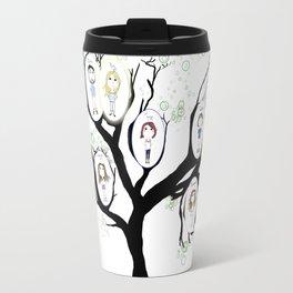 Personalized - Family Tree Travel Mug
