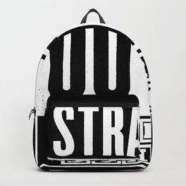 Straight Outta Preschool Backpack