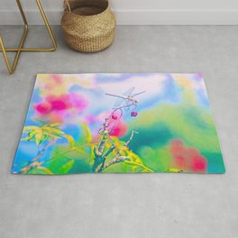 Dragonfly Dream a while Rug