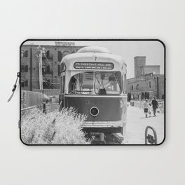 On the Waterfront Trolley Laptop Sleeve