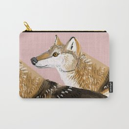 Totem Honshu Wolf Carry-All Pouch