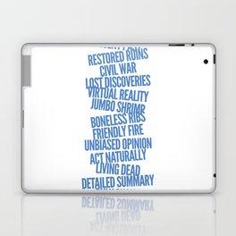 Oxymorons Laptop & iPad Skin