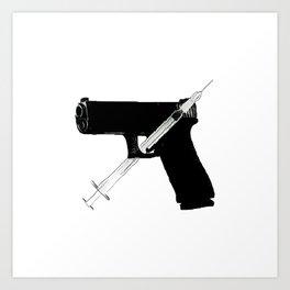 Addicted/BL Art Print