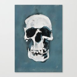 The Sherlock Skull Canvas Print