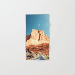 Desert Road-Utah Hand & Bath Towel