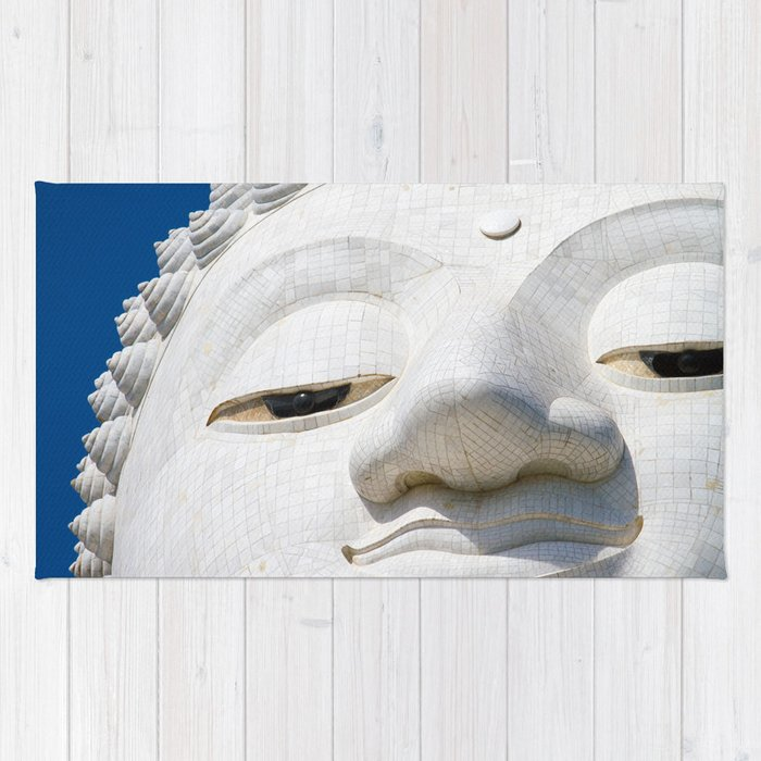 Face of Buddha Rug