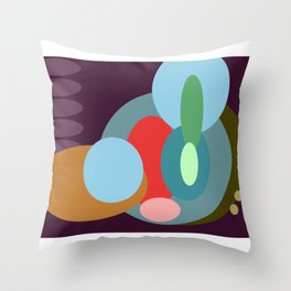 Googly Throw Pillow