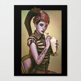 widow 1900 maker Canvas Print