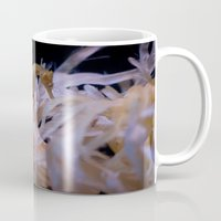 sea horse Mugs featuring Sea Horse by Starr Cuevas Photography