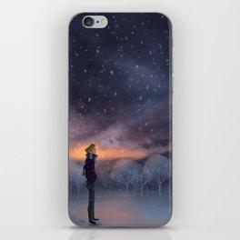 Ten Thousand Snowflakes iPhone Skin