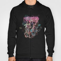 Floral clover Hoody