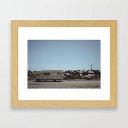 BORDERS Framed Art Print