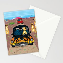 MeerCars Stationery Cards