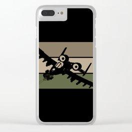 A-10 (Brrrrt) Clear iPhone Case