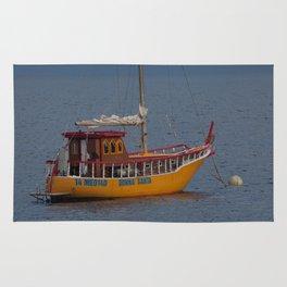 Italian Fishing Boat Rug