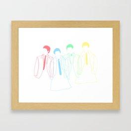 J&P&G&R Framed Art Print