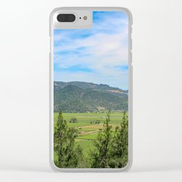 Wine Country Vista Clear iPhone Case