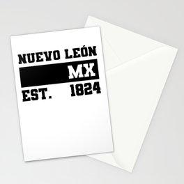 Nuevo Leon Mexico Est. - 1824 Vintage Retro Distressed Stationery Cards