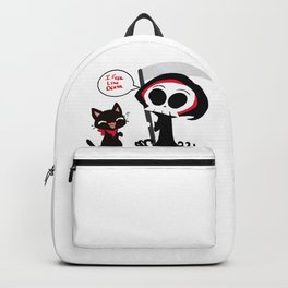 Death and Cat Backpack