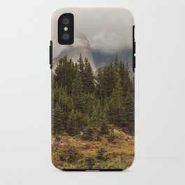 Moody Morning in the Wyoming Wilderness iPhone Case