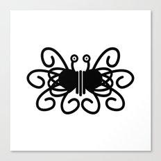 Pastafarian Flying Spaghetti Monster Canvas Print