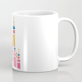 25th Birthday Magic Cake Castle Coffee Mug