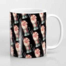 Strawberry Milkshake Pattern Coffee Mug